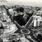 Vista Aérea del Parque Central de Miraflores – 1970