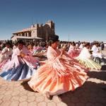 Danza de Cholas para San Pedro. Unicachi - Yunguyo, Puno
